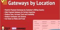 Gateways woocommerce by location