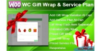 Gift wc wrap plan service and