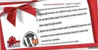 Gift woocommerce card