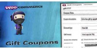 Gift woocommerce coupons