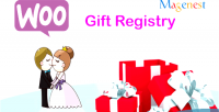Gift woocommerce registry