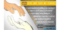 Give woocommerce & take