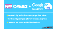 Google woocommerce cloud print
