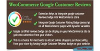 Google woocommerce customer reviews