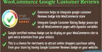 Google woocommerce customer reviews