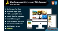 Grid woocommerce carousel with layout