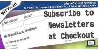 Groups woocommerce newsletters