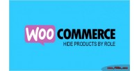 Hide woocommerce role by products
