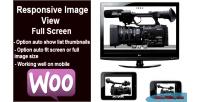 Image responsive screen full view