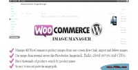 Image woocommerce manager