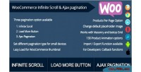 Infinite woocommerce scroll pagination ajax and