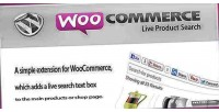Live woocommerce product search