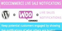 Live woocommerce sales notification