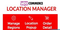 Location woocommerce manager
