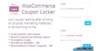 Locker coupon woocommerce