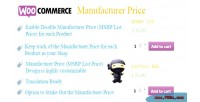 Manufacturer woocommerce price