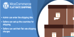 Marketplace woocommerce flat plugin shipping rate