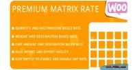 Matrix premium rate