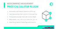 Measurement woocommerce plugin calculator price