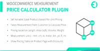 Measurement woocommerce plugin calculator price