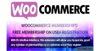 Membership free registration user on