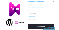 Mobile paym woocommerce for payment