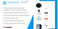 Mode catalog for woocommerce