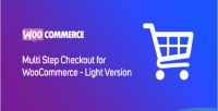 Multi step checkout for version light woocommerce