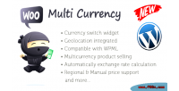 Multi woo plugin wordpress currency
