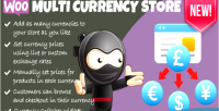 Multi woocommerce currency store