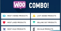 Multifunctional woocombo woocommerce tabs & widgets