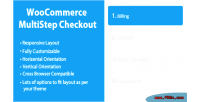 Multistep woocommerce checkout