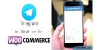 Notifications telegram for woocommerce