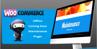 Offline woocommerce coming plugin maintenance soon