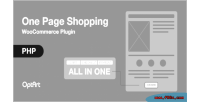 One woocommerce page shopping