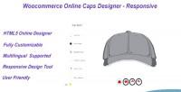 Online woocommerce responsive designer caps