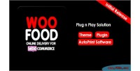 Online woofood woocommerce for delivery