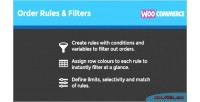 Order woocommerce rules filters