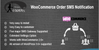 Order woocommerce sms notification