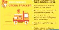 Order woocommerce tracker