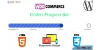 Orders woocommerce progress bar