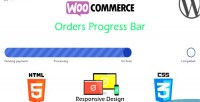 Orders woocommerce progress bar