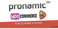 Parcelware woocommerce export