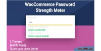 Password woocommerce strength meter