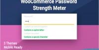 Password woocommerce strength meter