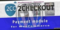 Payment 2checkout woocommerce for gateway