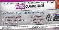 Payment ccavenue woocommerce for gateway