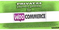 Payment privat24 woocommerce for gateway