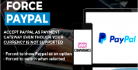 Paypal force view & switch on woocommerce for checkout