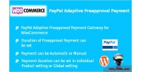 Paypal woocommerce payment preapproval adaptive